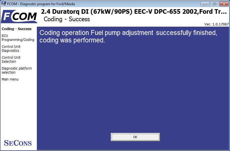 Ford Fuel Injection Pump (FIP) coding - OBD2 Diagnostics Wiki